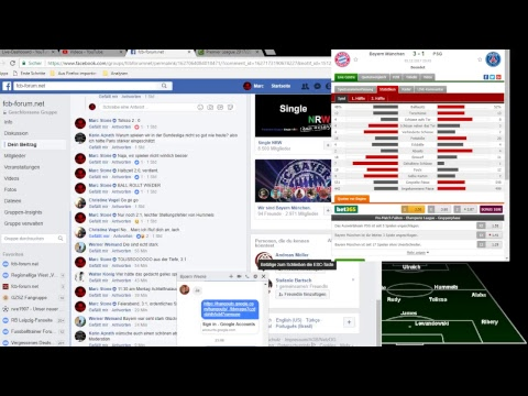 FC Bayern – P S G +++  LIVEradio (1718/CL/6)