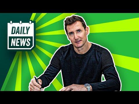 FC Bayern: Klose wird Trainer! BVB: Manchester United zieht Angebot für Sancho zurück!