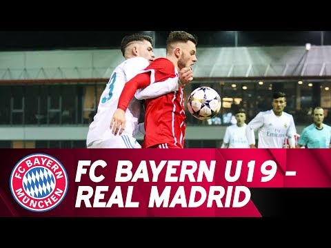 Highlights UEFA Youth League: U19 unterliegt Real Madrid in großartiger Partie mit 2:3