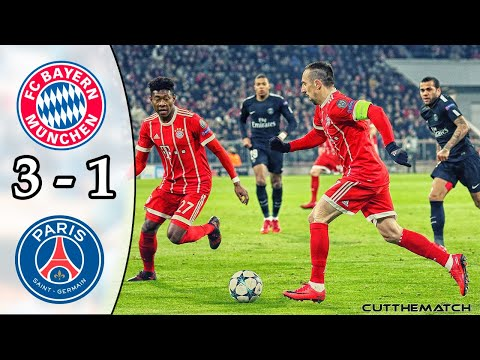 Bayern Munich vs PSG 3-1 | Champions League 2017/18