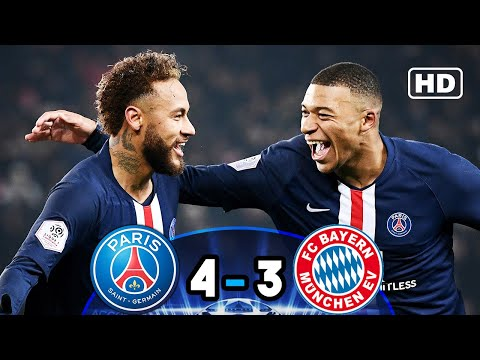 PSG vs BAYERN (4-3) | All Goals & Extended Highlights Last UCL Two Matchs
